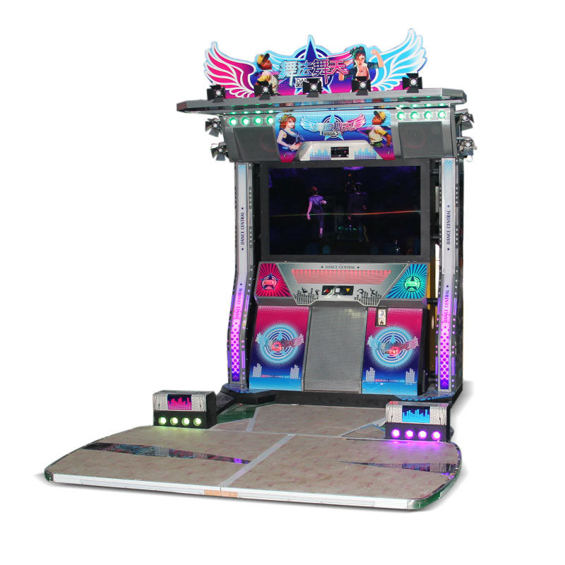 pump it up dance machine 2 players dancing game machine